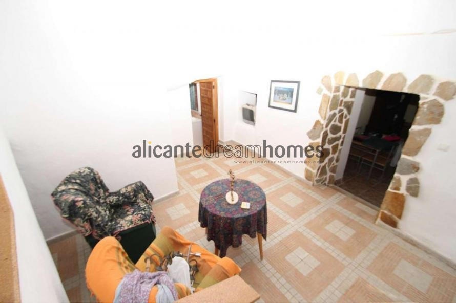 Part cave house walking distance to town! in Alicante Dream Homes