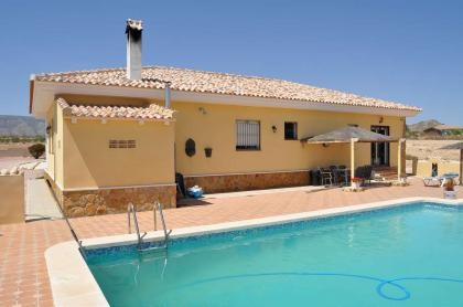 Villa with fish pond and pool