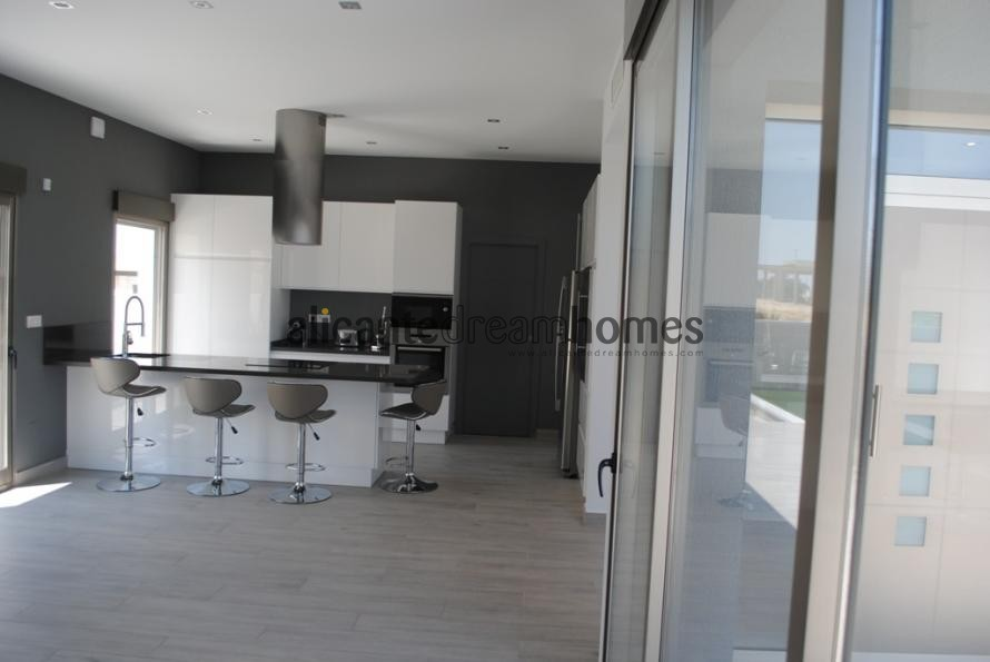 Luxury New Build Villa 10,000 M2 Plot 70% mortgage available in Alicante Dream Homes
