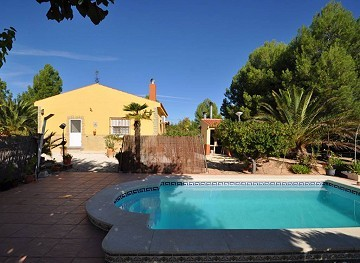 Pinoso Villa with pool 2km to Town