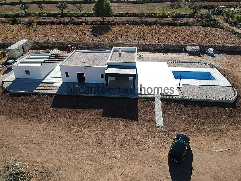 Modern new villa near Pinoso 3 bedroom villa with pool and garage  in Alicante Dream Homes