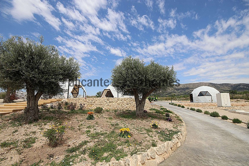New unique and modern detached villa with a pool, terrace and garage in Alicante Dream Homes