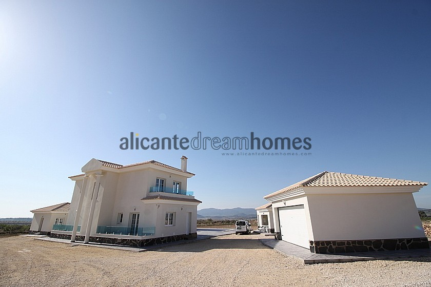Luxury new build villa with guest house and garage in Alicante Dream Homes