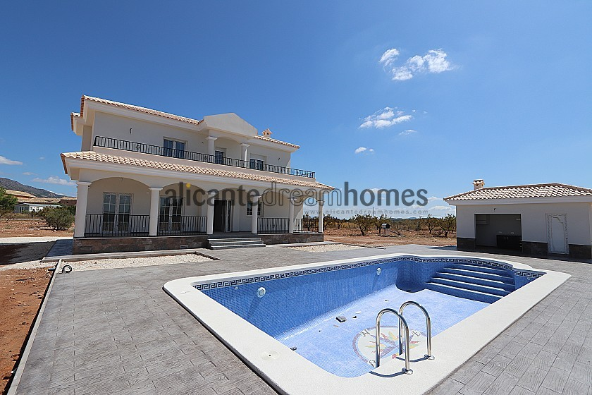 New build villa 195m2 with pool in Alicante Dream Homes