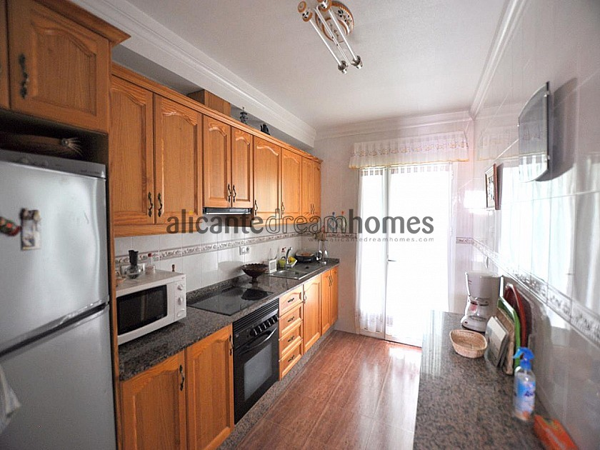 Large 5 bed, 3 bath Townhouse in Salinas near Sax in Alicante Dream Homes