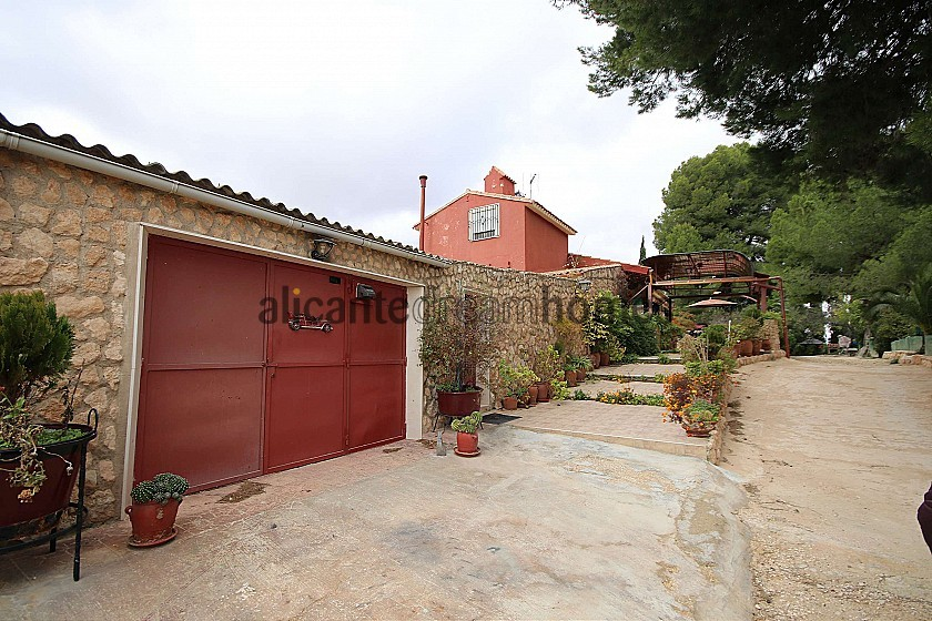 Detached Country House with a covered pool near Yecla in Alicante Dream Homes