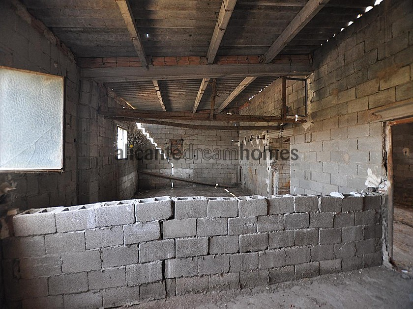 Large restoration project, walking distance to Villena in Alicante Dream Homes