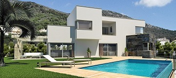 New build villa with pool and plot
