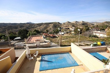 Villa with a pool in Montesol - rented out, not available until feb 2021