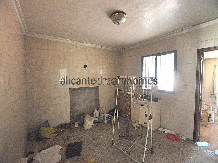 Great Restoration project, Walking distance to Biar in Alicante Dream Homes