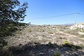 Building plot of land with tarmac access, views and close to town in Alicante Dream Homes