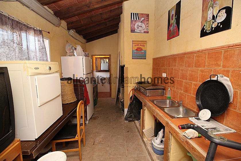4bed 3bath Villa with garage & garden with room for a pool in Alicante Dream Homes