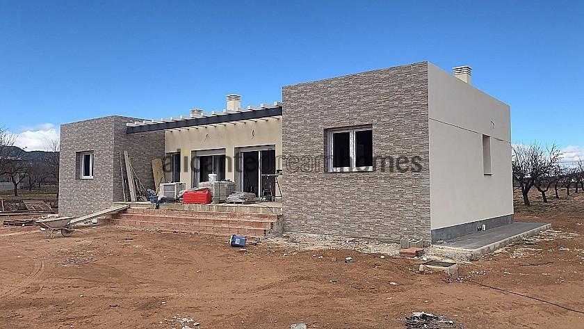 New build walk to Pinoso town in Alicante Dream Homes