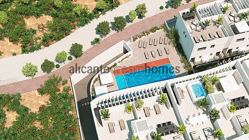 New Penthouses in Guardamar del Segura, 2 Beds 2 Bath, Communal Pool. Only 5 Mins from the Beach in Alicante Dream Homes