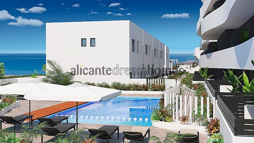 New Duplex in Guardamar del Segura, 3 Beds 3 Bath, Communal Pool. Only 5 Mins from the Beach. in Alicante Dream Homes