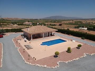Walk to Pinoso 4 bedroom Villa with 10m pool