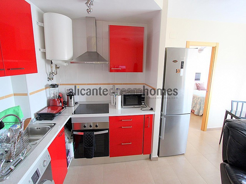 1 Bed Studio Apartment in the heart of Sax with pool in Alicante Dream Homes