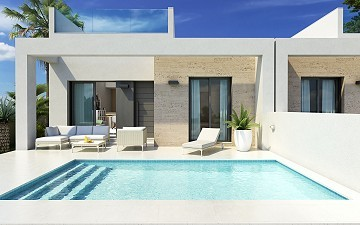 New One Level Modern Villa with Pool