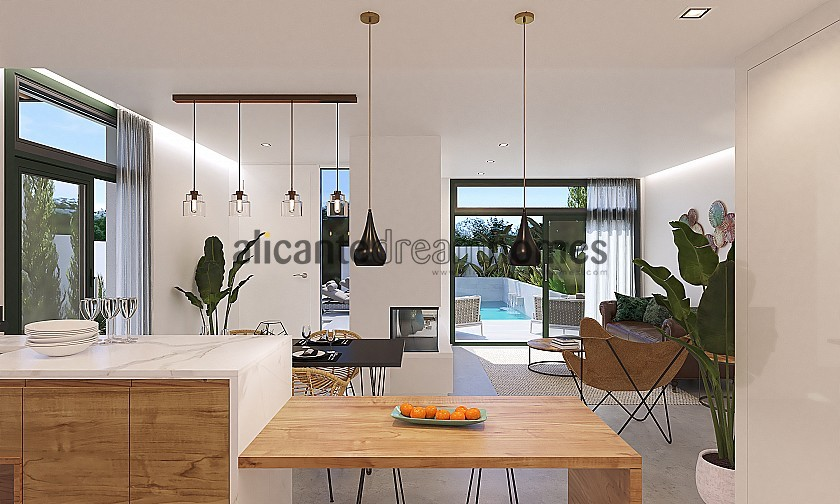 Olive Collection Villa 3 Bed 4 Bath with Pool in Alicante Dream Homes