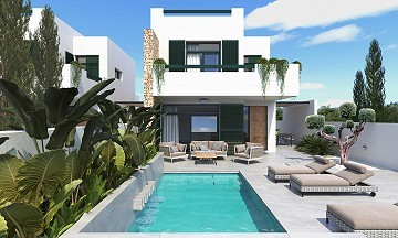 3 Bed, 4 Bath Villa with Pool