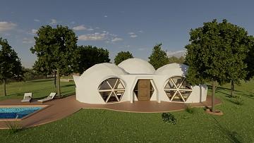 Dome Eco New Build - Altea model 3 bed 4 bath, 150sqm