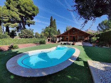 Detached Villa with a pool in Loma Bada